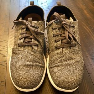 Toms Del Rey Forged Iron Grey Space-Dye Shoes 11